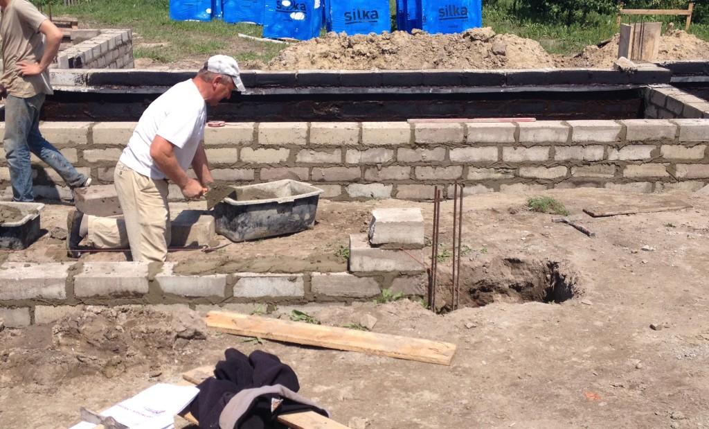budowa fundamentów z bloczka