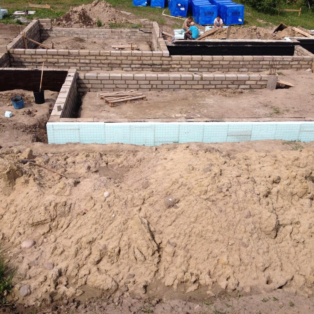 fundamenty - budowa domu systemem gospodarczym