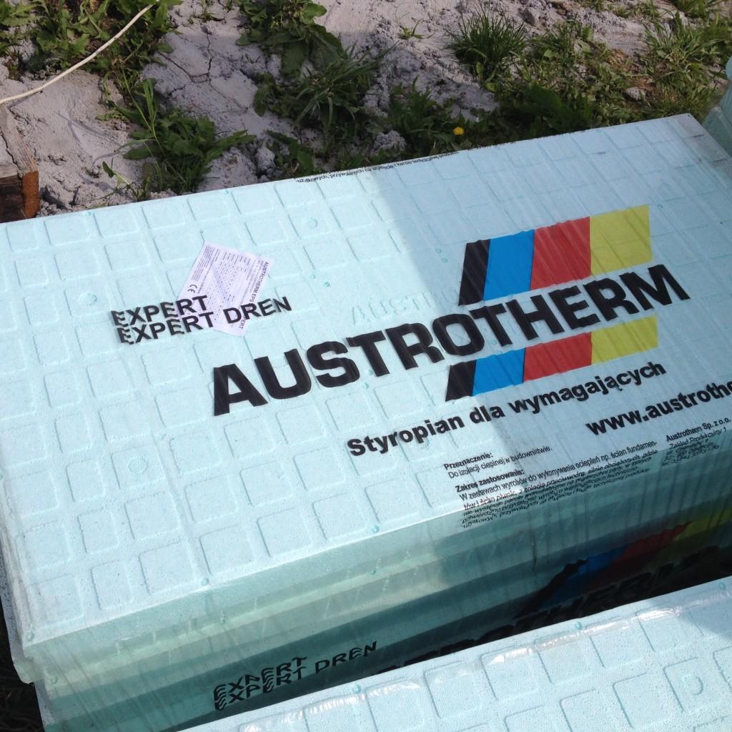 Austrotherm EPS 035 EXPERT - 330 zł m3