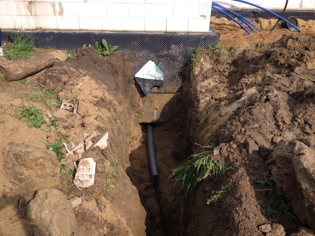 Wykonanie przyłacza wodociągowego